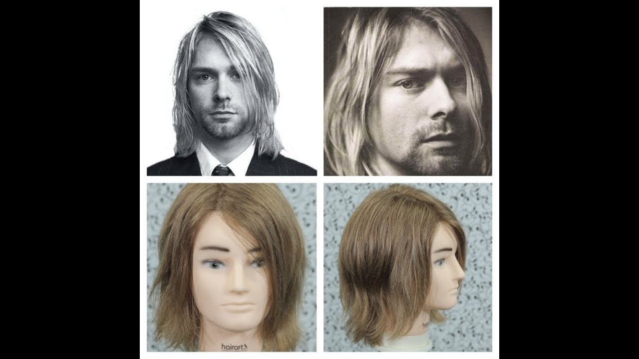 Kurt Cobain Haircut Tutorial in What Was Kurt Cobain Haircut Called