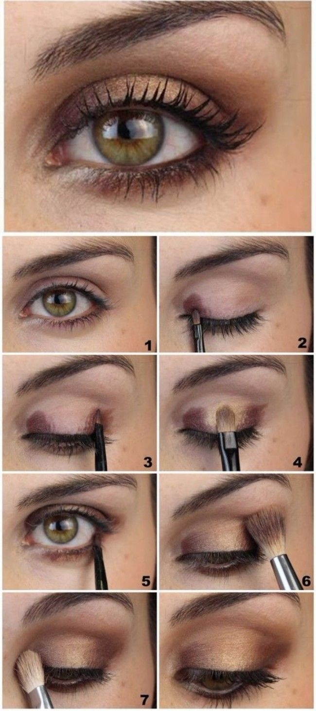 Makeup For Green Eyes | Cosmetics | Eye Makeup, Makeup regarding How To Apply Brown Eyeshadow For Green Eyes