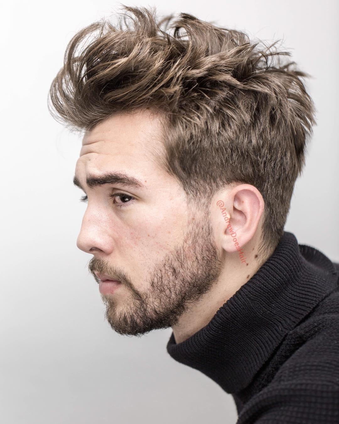 boys haircuts medium length  wavy haircut