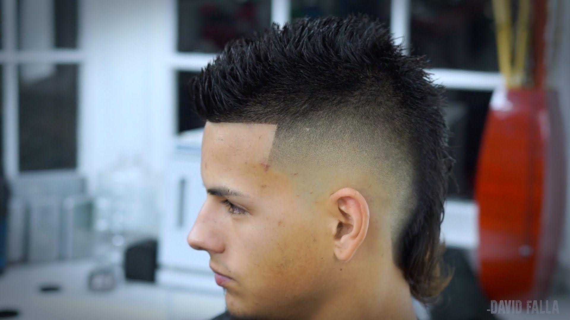Faux Hawk Mullet Styles Wavy Haircut