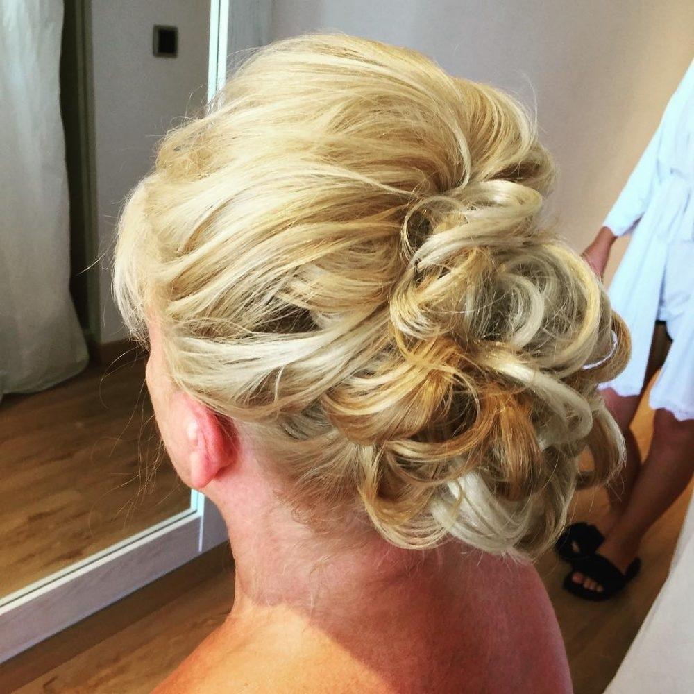 Mother Of The Bride Hairstyles: 26 Elegant Looks For 2019 with regard to Mother Of The Bride Hairstyles Thin Hair