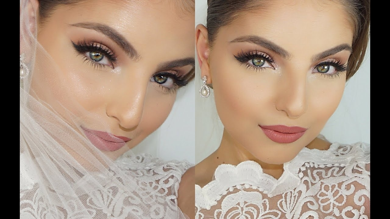My Wedding Day Makeup Tutorial ♡ in Makeup For Wedding Day Photos