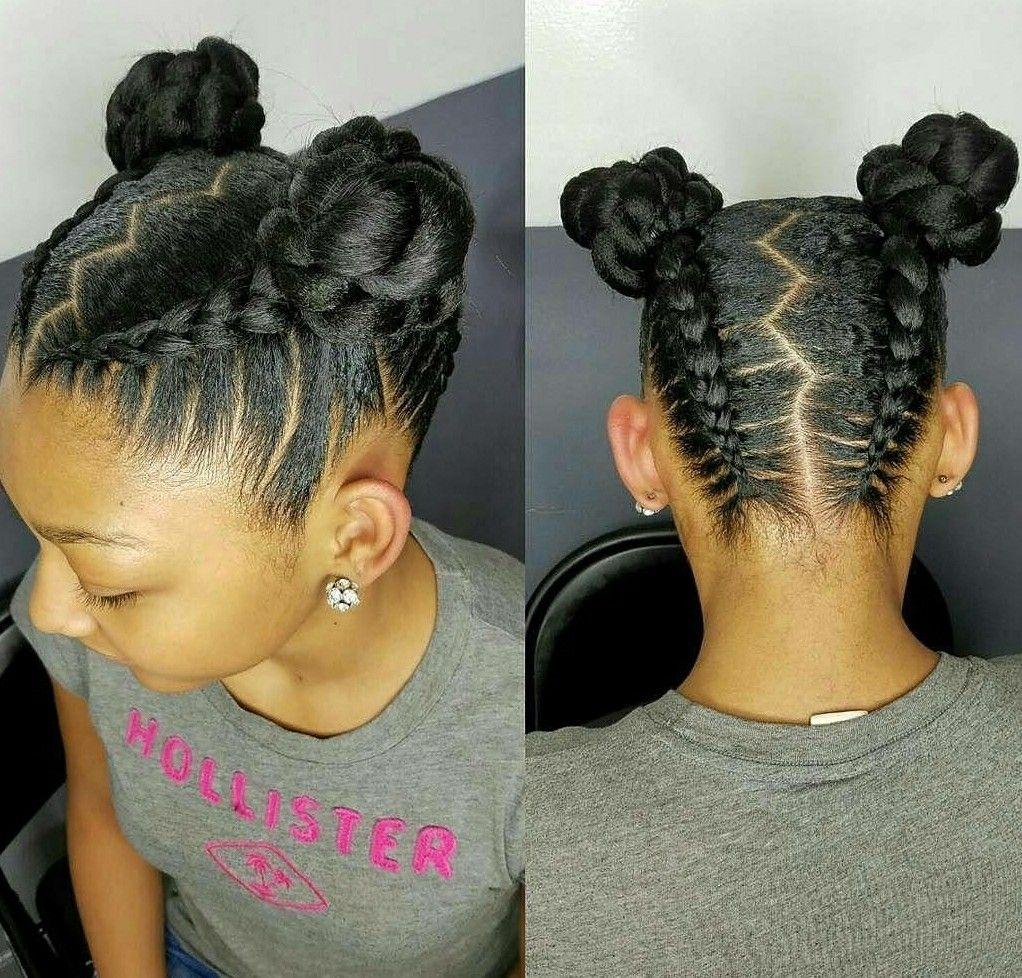 Hairstyles For Natural Black Kids   Wavy Haircut