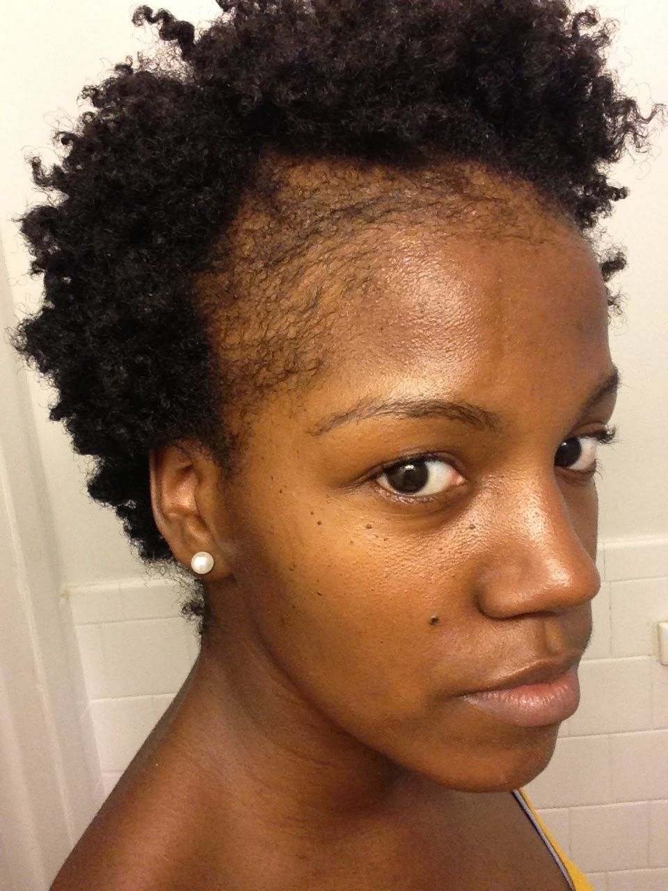 Hairstyles For Damaged Edges   Wavy Haircut