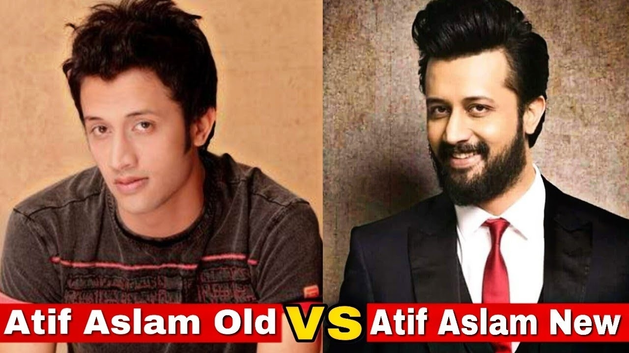 New Vs Old - Atif Aslam | Atif Aslam Then And Now ( Live Edition ) for Atif Aslam Old Picture