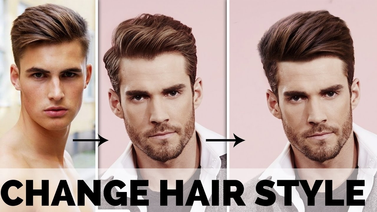 Photoshop Tutorial   How To Change Hair Style Using Photoshop   Tasty  Tutorials intended for Try Out Different Hair Styles