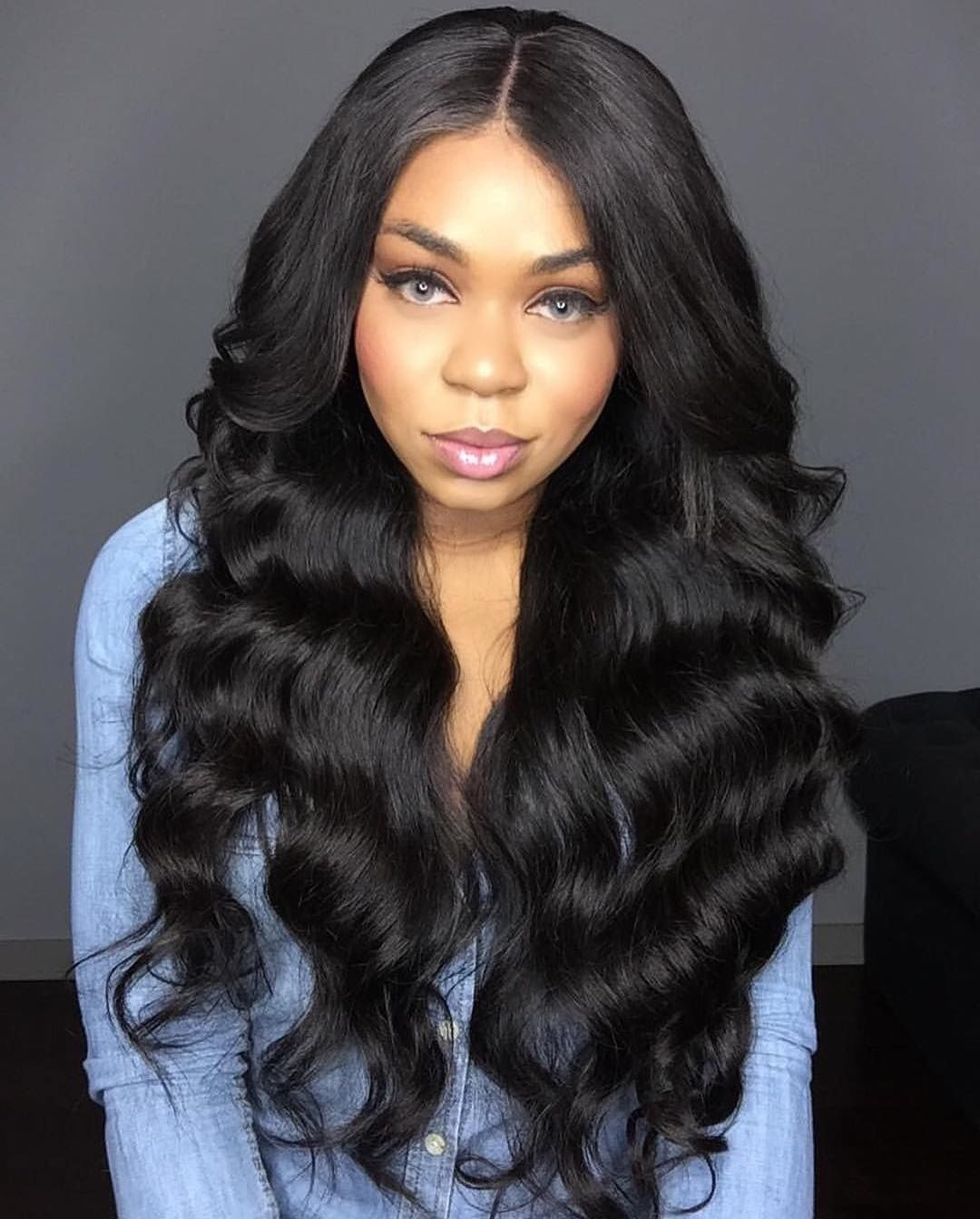 Pin By Raymooind Taliaferro On Gorgeous In 2019 | Body Wave throughout Body Wave Hairstyles 2018 Black