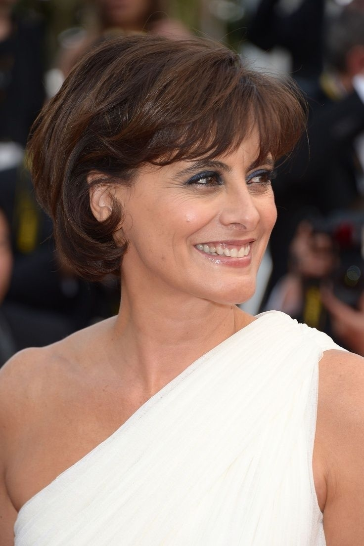 Pin On Fashionviral with Ines De La Fressange Hairstyle