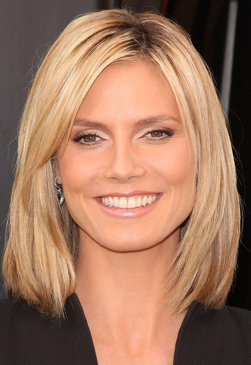 Wash And Go Shoulder Length Hairstyles   Wavy Haircut