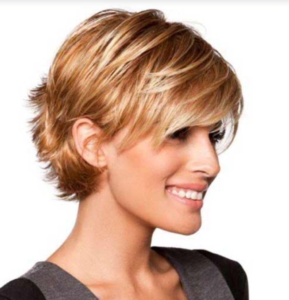 ears behind short hair hairstyles haircut cuts sassy wavy
