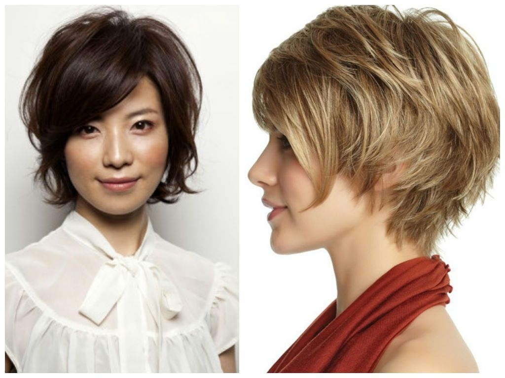 Short-Modern-Shag-That-Covers-Ears | Edgy Haircuts | Hair with regard to Short Hairstyles To Cover Ears
