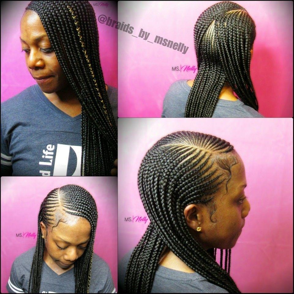 Small Feeders, Braids, Lemonade Braids, 2 Layer Braids, Neat within Two Layer Braids Hairstyles