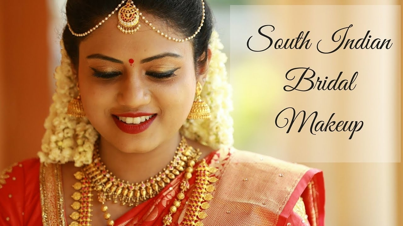 South Indian Bridal Makeup Tutorial | Ria Rajendran with South Indian Wedding Makeup Pictures
