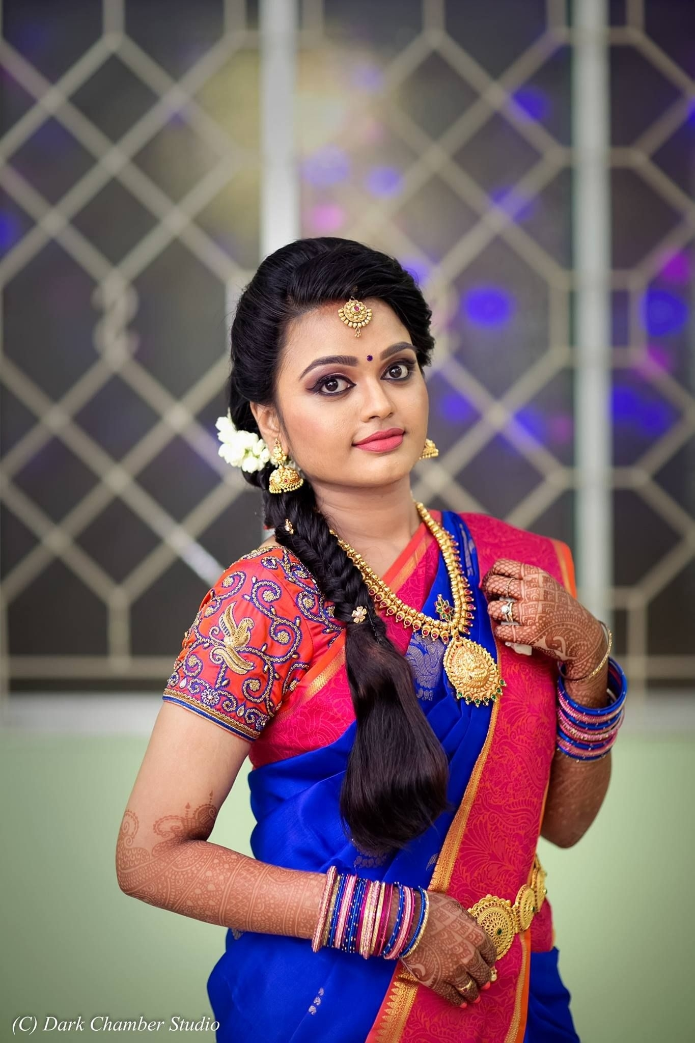 South Indian Brides | Bridal Inspirations | Indian Brides In with regard to South Indian Hairstyle For Engagement In Saree