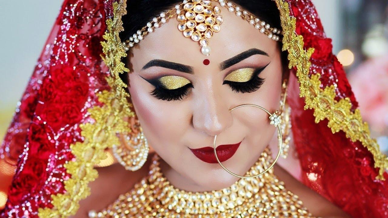 Summer Long Lasting Indian Bridal Makeup Tutorial In Hindi (Sweat  Proof/water Proof) for Bridal Makeup Images
