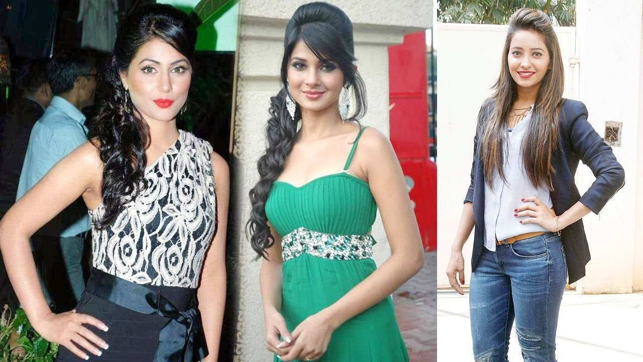 Television Actresses With Different Hairstyles inside Indian Tv Actress Hairstyle