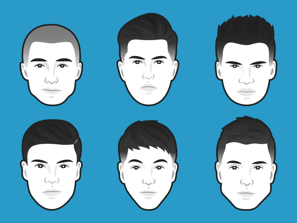 The Best Men's Haircut For Every Face Shape | Business Insider pertaining to Hairstyles On My Face