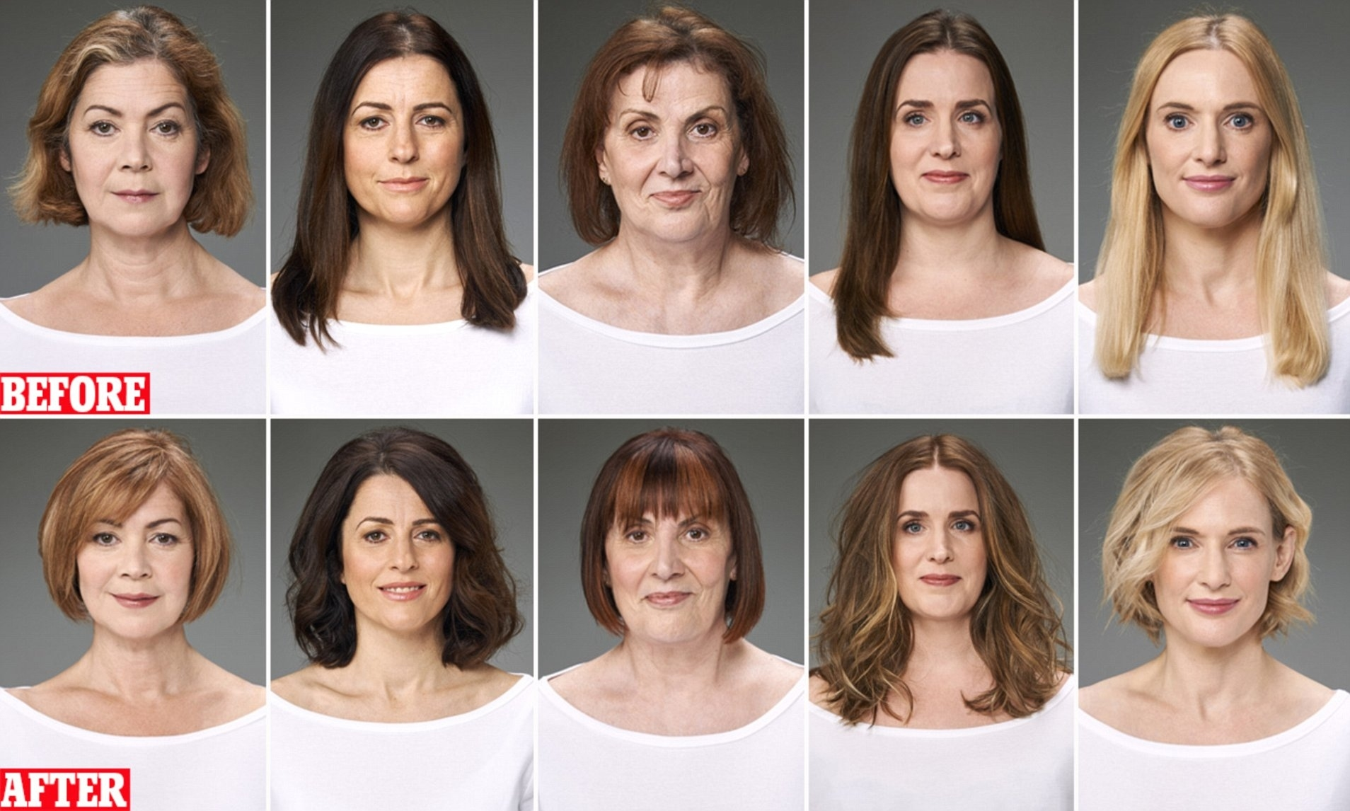 The Haircuts As Anti-Ageing As A Facelift!   Daily Mail Online throughout Best Hair Cut For Jowls