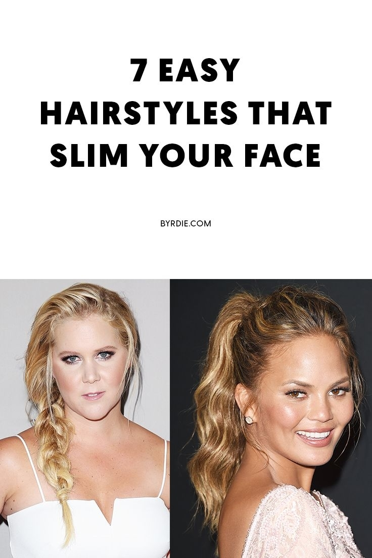 Yes, Your Haircut Can Make Your Face Look Slimmer—Here Are 7 with Try Hair Styles On Your Face