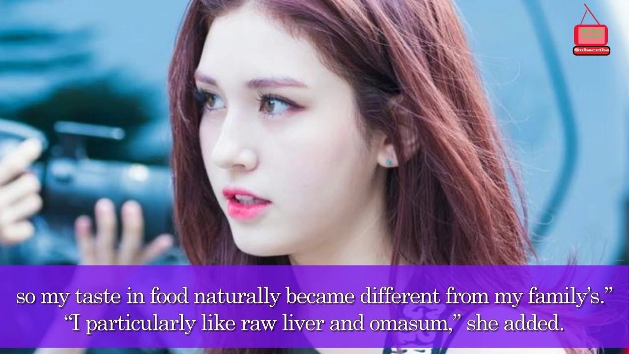 Jeon Somi Talks About Her Peculiar Taste In Food - Korean Top News - Korean Hot News Today regarding Jeon Somi Natural Hair Color