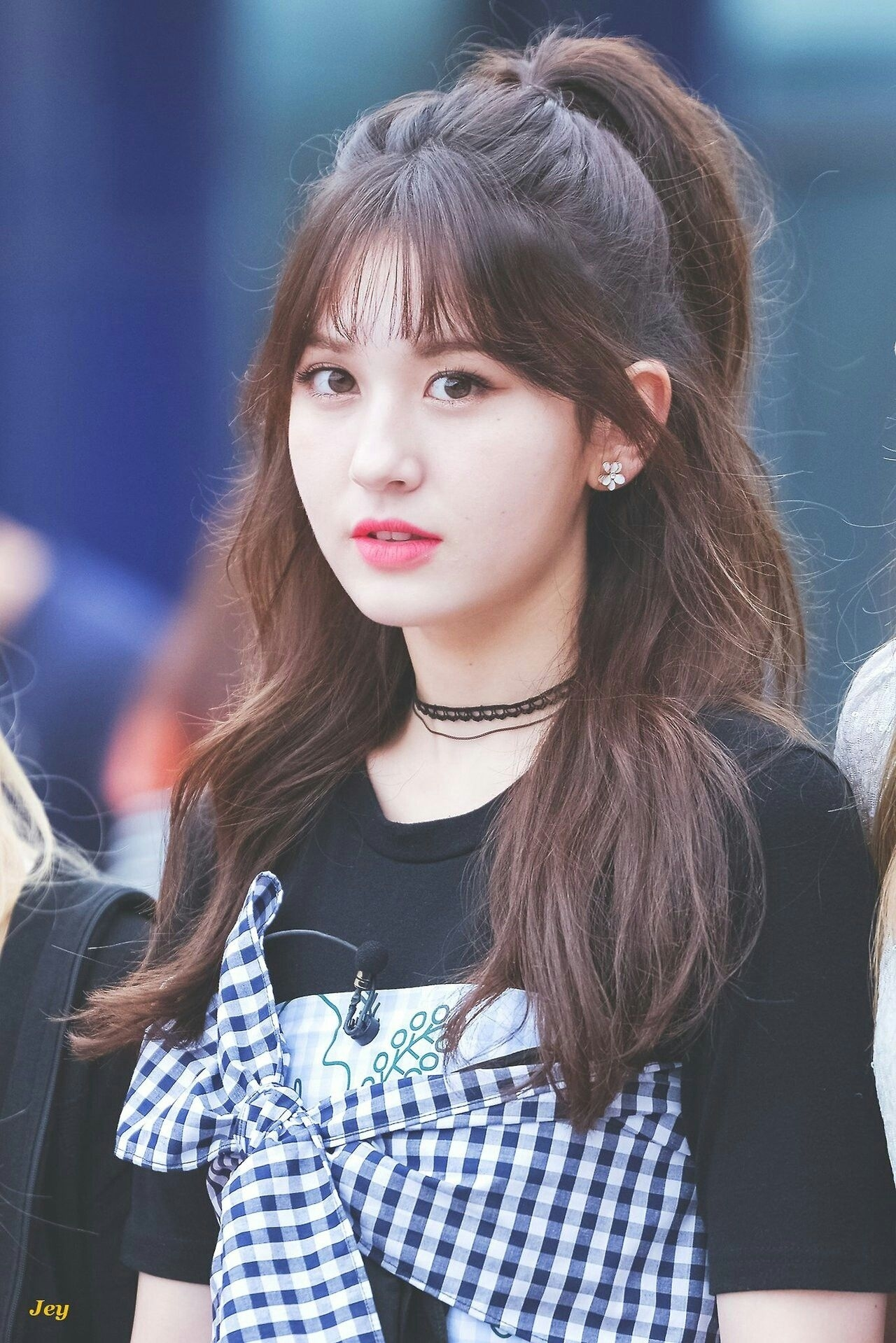 Pin By Im Nayeon On Somi | Jeon Somi, Korean Bangs, Somi in Jeon Somi Natural Hair