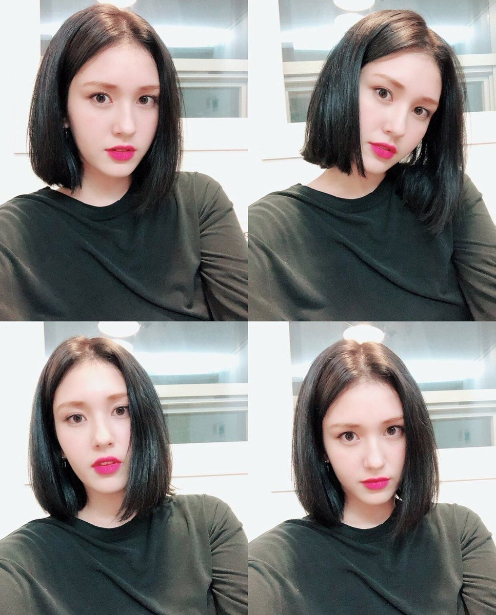 Pin On Somi Jeon ❣️ throughout Jeon Somi New Hair