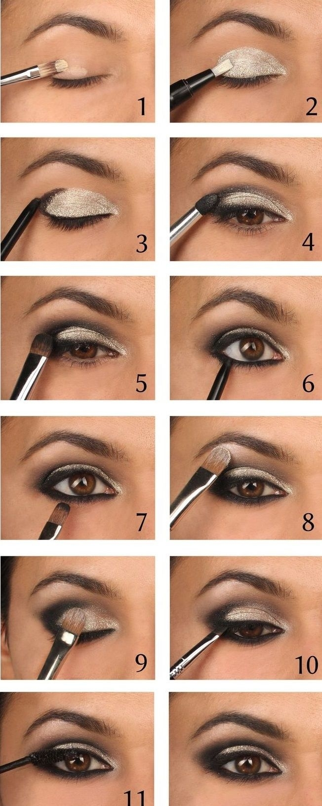 40 Hottest Smokey Eye Makeup Ideas 2020 & Smokey Eye in Smokey Eye Makeup Instructions