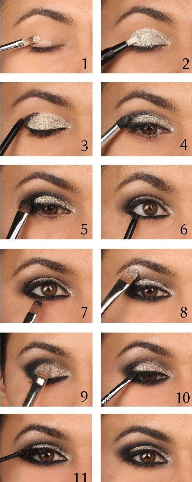 40 Hottest Smokey Eye Makeup Ideas 2020 & Smokey Eye with Smokey Eye Makeup Steps With Pictures
