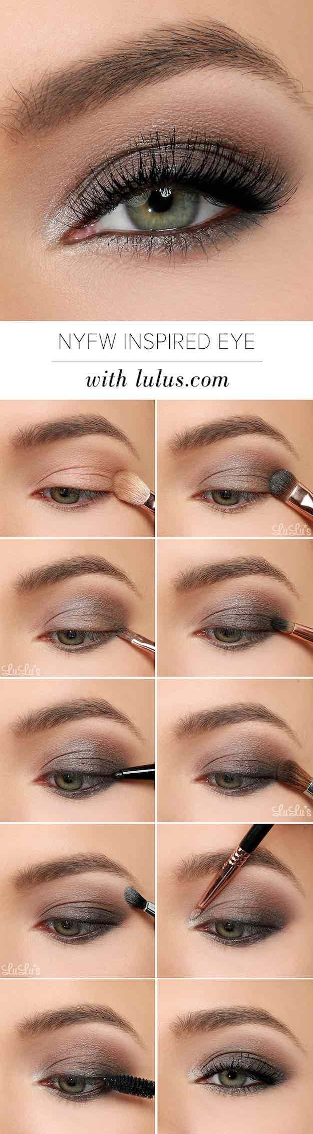 50 Perfect Makeup Tutorials For Green Eyes | Smoky Eye throughout Makeup Tutorials For Green Eyes And Brown Hair