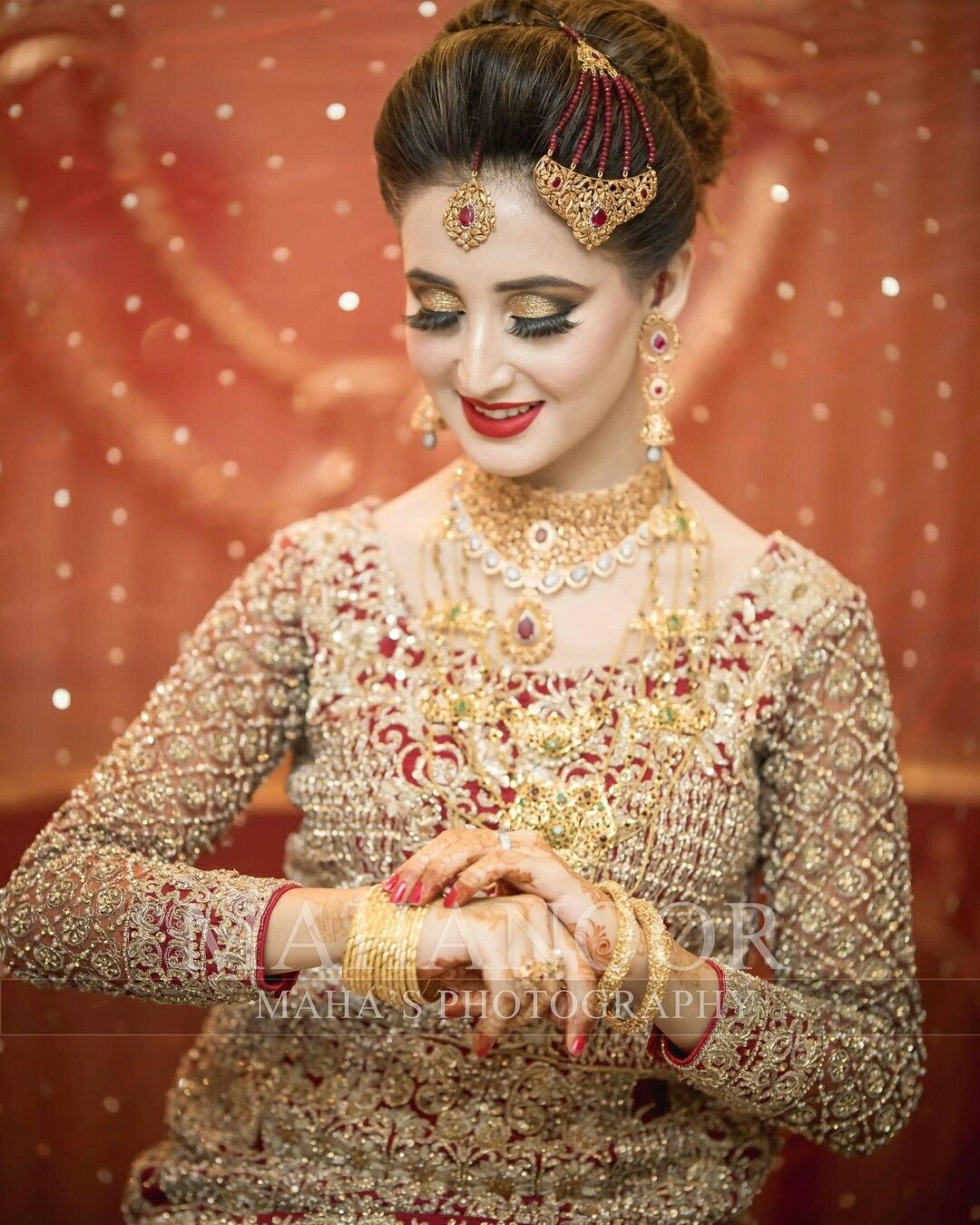 Beautiful Indian & Muslim Brides Image By Amichelle32282 in Indian Muslim Bridal Makeup Pictures