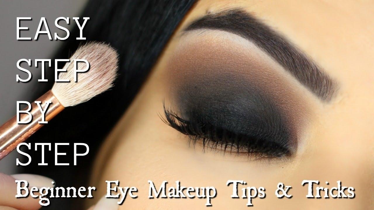 Beginner Eye Makeup Tips & Tricks | Step By Step Smokey Eye Makeup for Applying Smoky Eye Makeup Step By Step