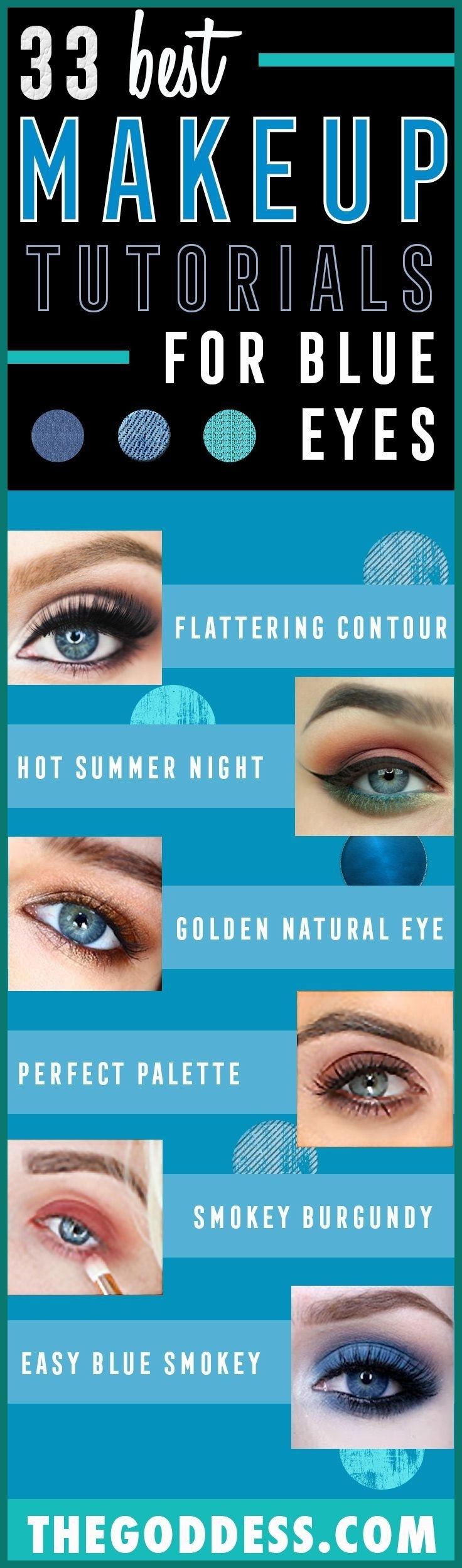 Best Eyeshadow Colors For Blue Eyes And Brown Hair 534226 for Makeup Colors For Blue Eyes And Brown Hair