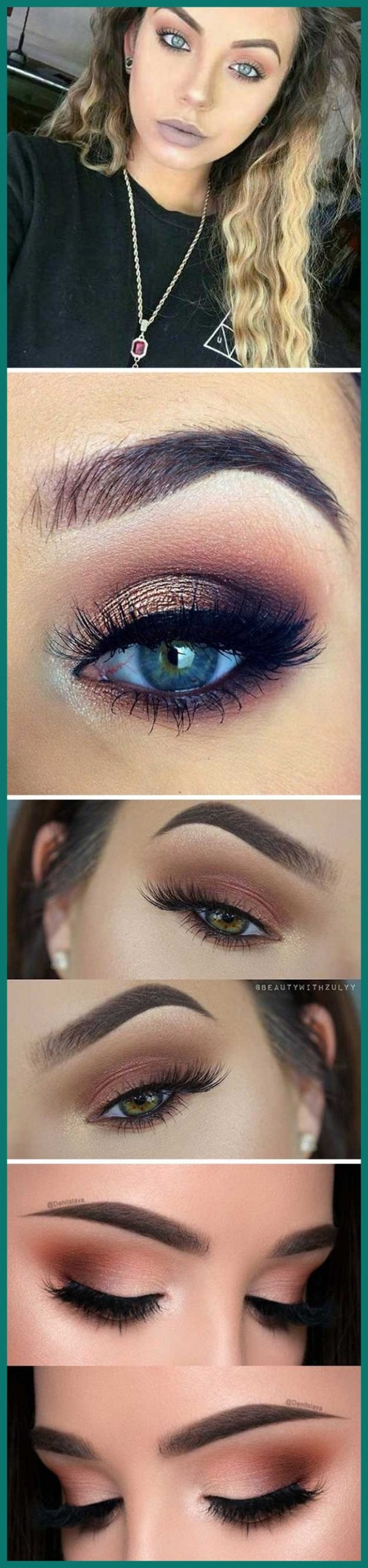 Best Eyeshadow Colors For Blue Eyes And Brown Hair 534226 throughout Makeup Tips For Blue Eyes And Brown Hair