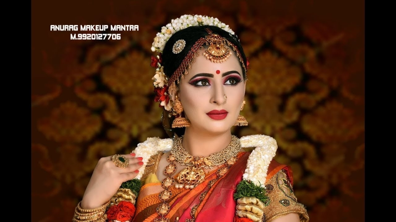Best South Indian Bridal Makeup Tutorial 2018 Hd Anurag Makeup Mantra in Indian Bridal Makeup Hd Images
