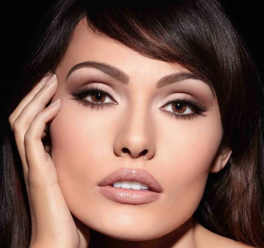 Evening Makeup For Dark Hair And Brown Eyes :: One1Lady pertaining to Makeup Ideas For Brown Eyes And Dark Brown Hair