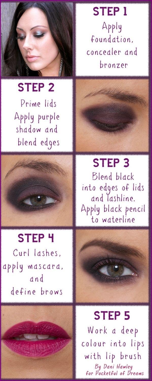 Eye Makeup Tips With Pictures In Urdu | Saubhaya Makeup for Smokey Eye Makeup Tips In Urdu