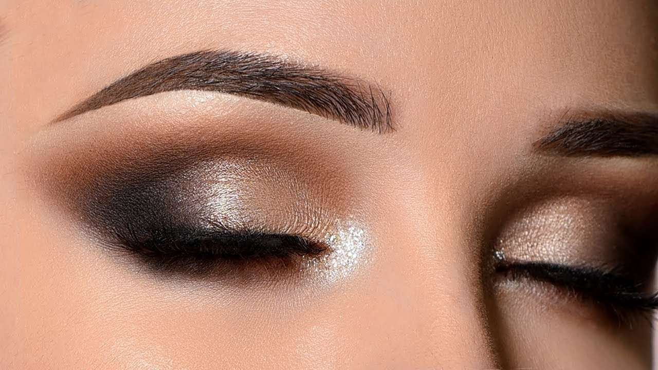 Glam Smokey Eye | New Years Eve Makeup Tutorial throughout How To Smokey Eye Look With Pictures