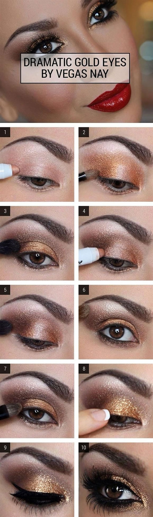 How To Do Smokey Eye Makeup? - Top 10 Tutorial Pictures For 2019 regarding Smokey Eye Makeup Tutorial Step-By-Step