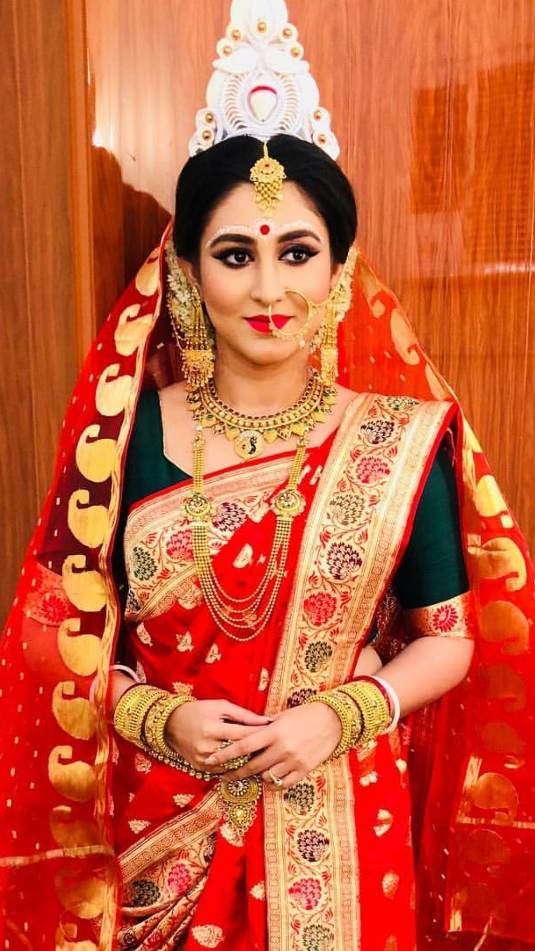 Mãđhű For More Pics Follow | Bridal Makeup Images, Radha for Bridal Makeup Picture Gallery