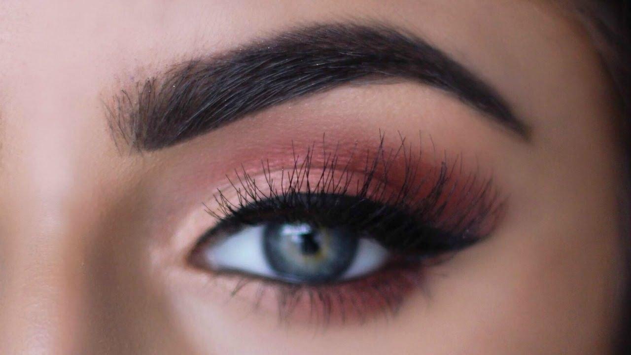 Make Blue/green Eyes Pop! Copper Tutorial | Sayehsharelo pertaining to Makeup Tutorials For Blue Green Eyes
