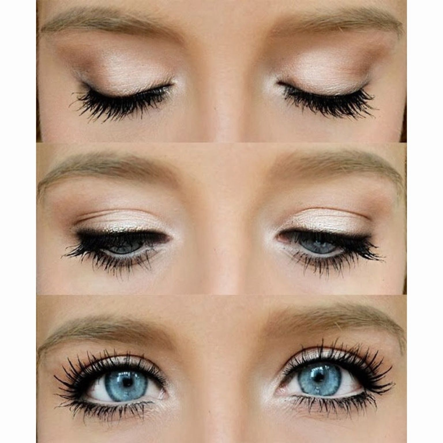Make Your Blue Eyes Pop With This Natural Eye. A Little Eye with regard to How To Do Your Eyeshadow For Blue Eyes