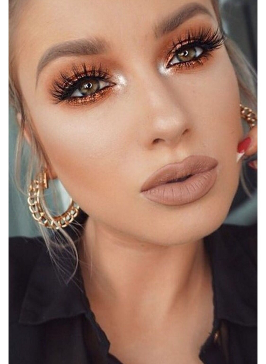 Makeup For Green Eyes, Light Skin | Eye Makeup, Pretty for Best Color Eyeshadow For Light Green Eyes