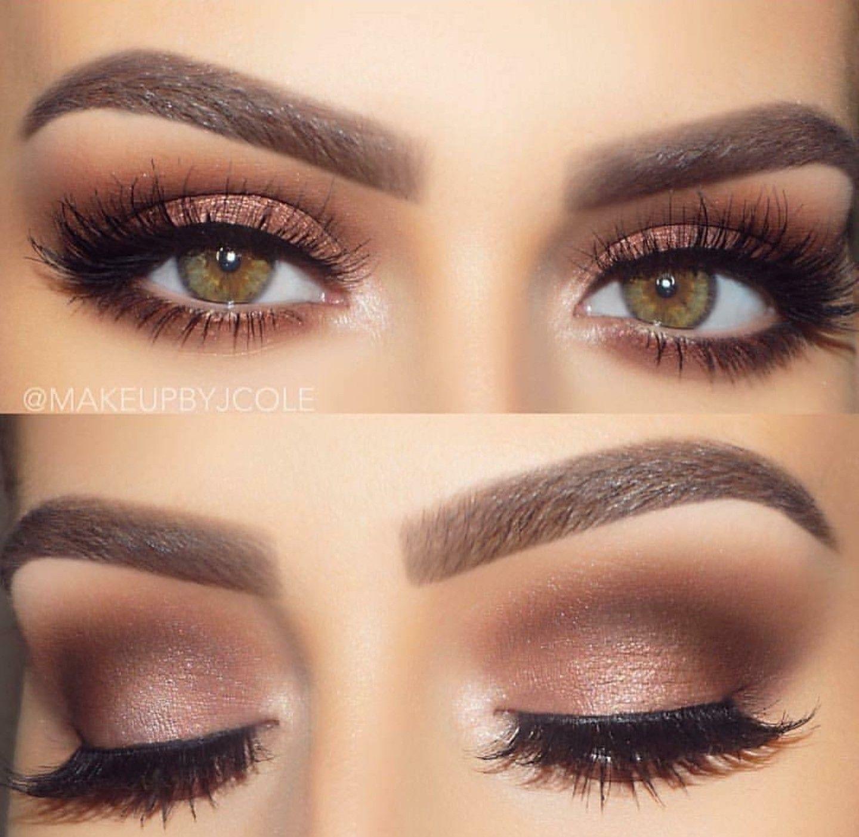 Makeup For Hazel Eyes | Hazel Eye Makeup, Brunette Makeup in Wedding Makeup For Blondes With Hazel Eyes