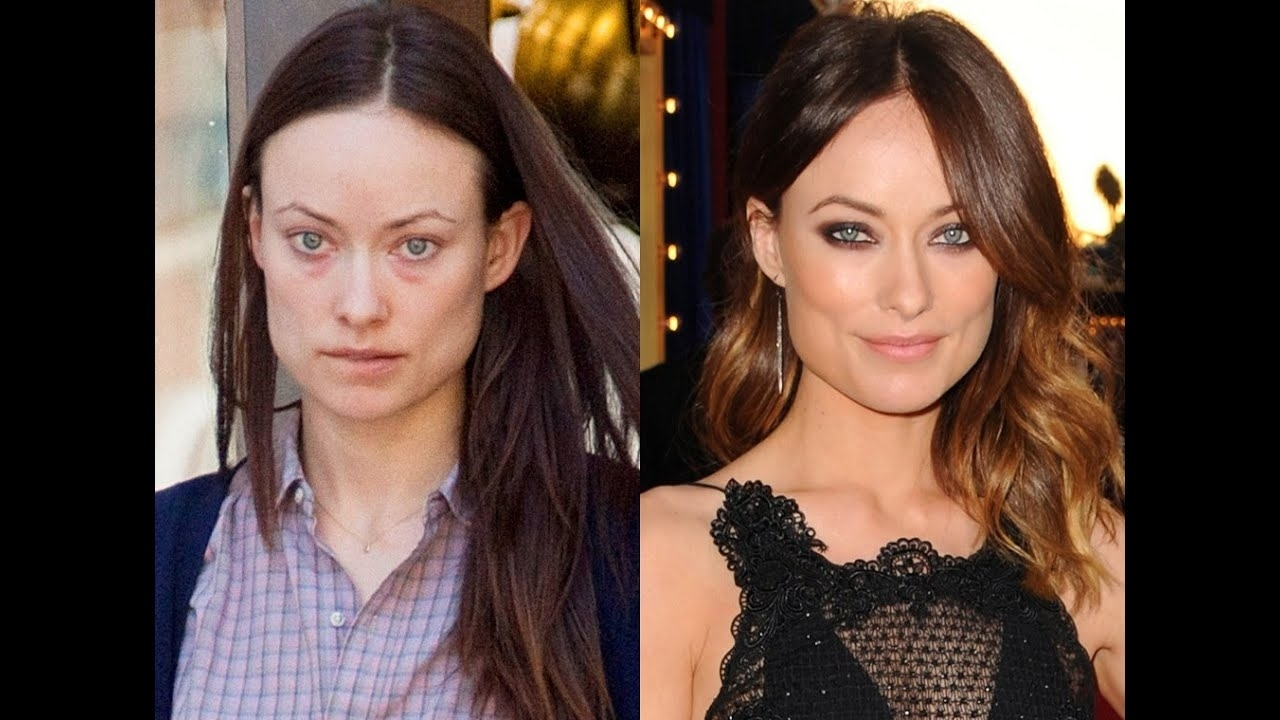 Makeup Miracles - Celebrities Without Makeup - Before And After Comparison with regard to Celeb Before And After Makeup