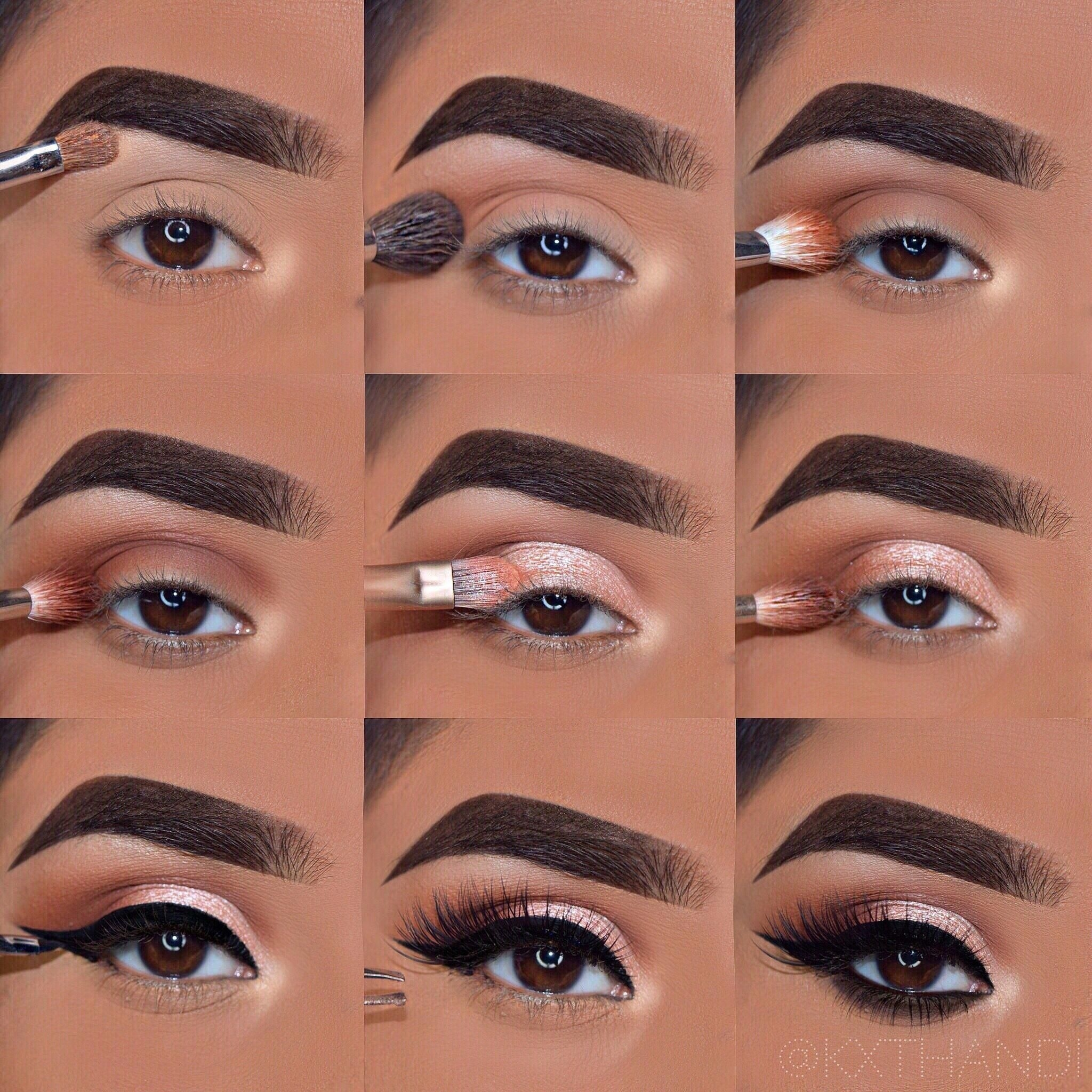 Makeup Step By Step Tutorial. Everyday Glam inside Eye Makeup Images Step By Step