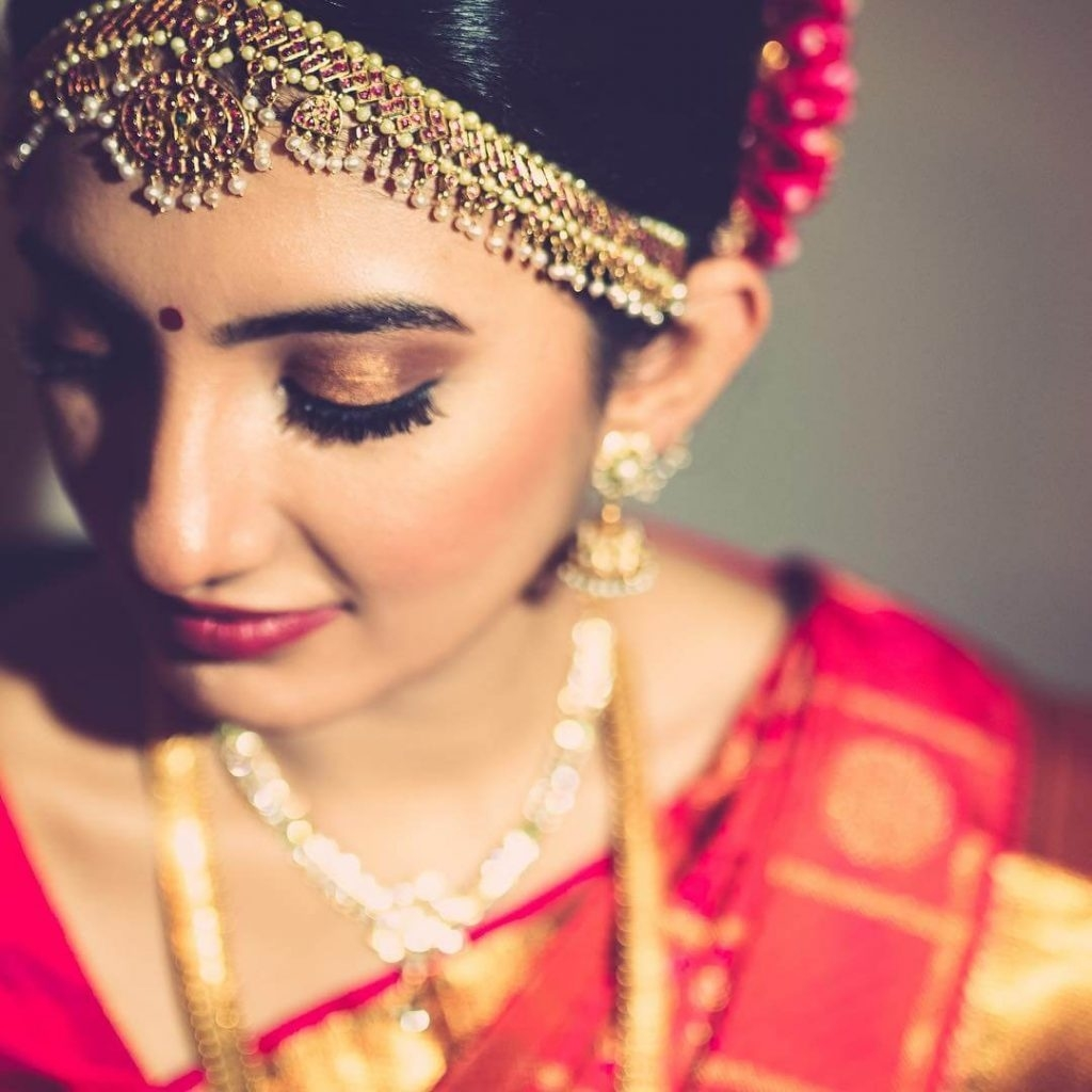 Traditional South Indian Bridal Makeup Looks We Absolutely with South Indian Bridal Makeup Pics