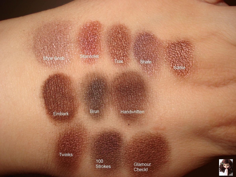 Updated Mac Eyeshadow Collection And Swatches | Mac inside Best Eyeshadow For Hazel Eyes Mac