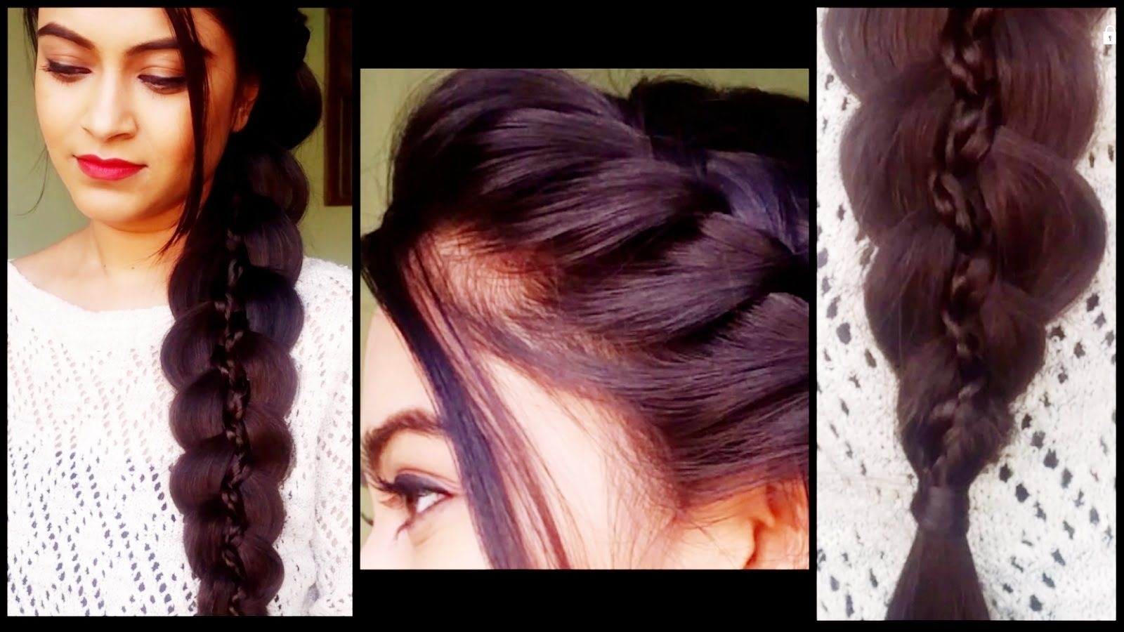 Braided 5 Strand Braid - Hairstyles For Medium/long Hair in Indian Hairstyles For Long Hair