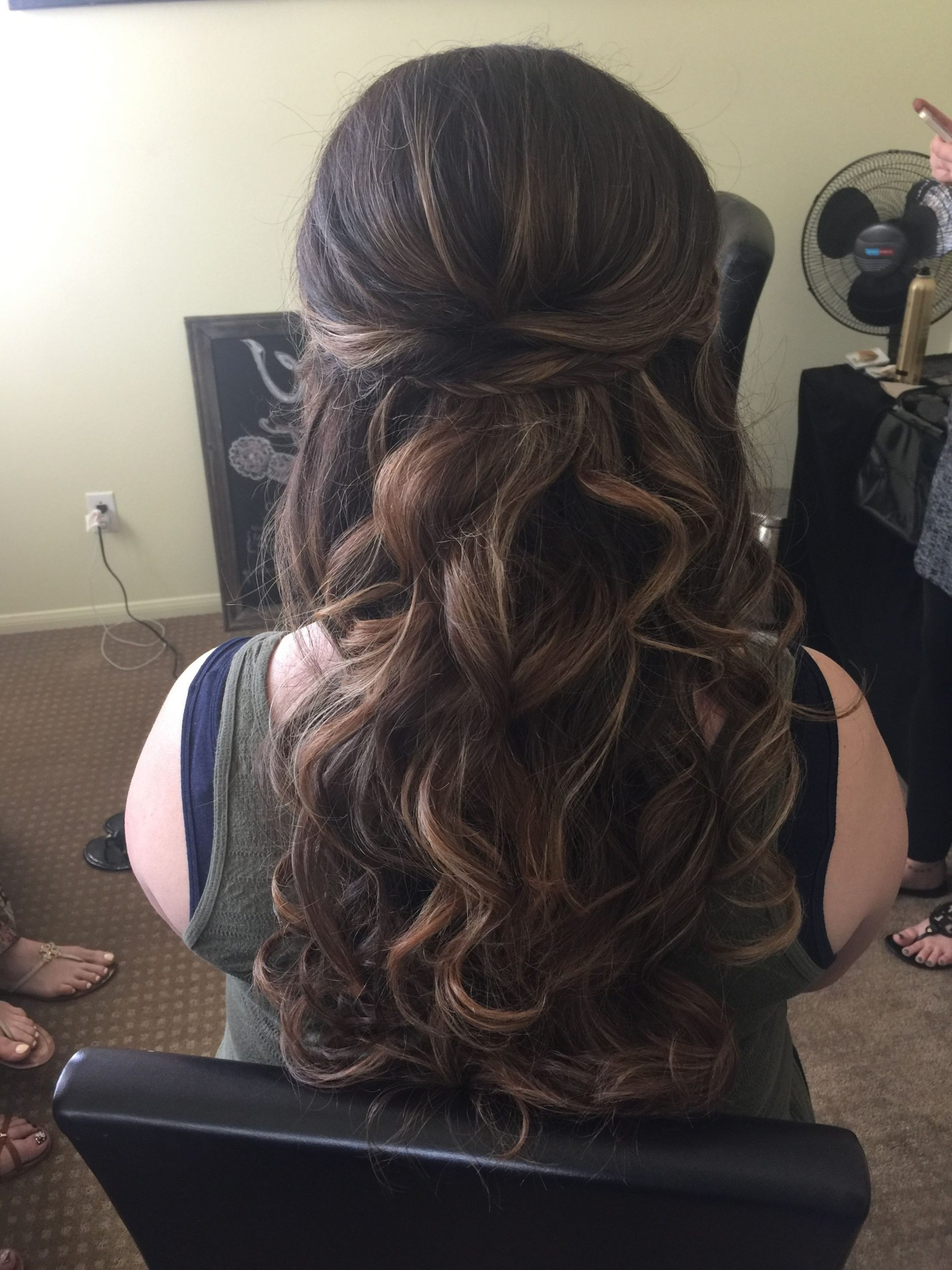 2020 Popular Veiled Bump Bridal Hairstyles With Waves with Bump Hair Styles 2019