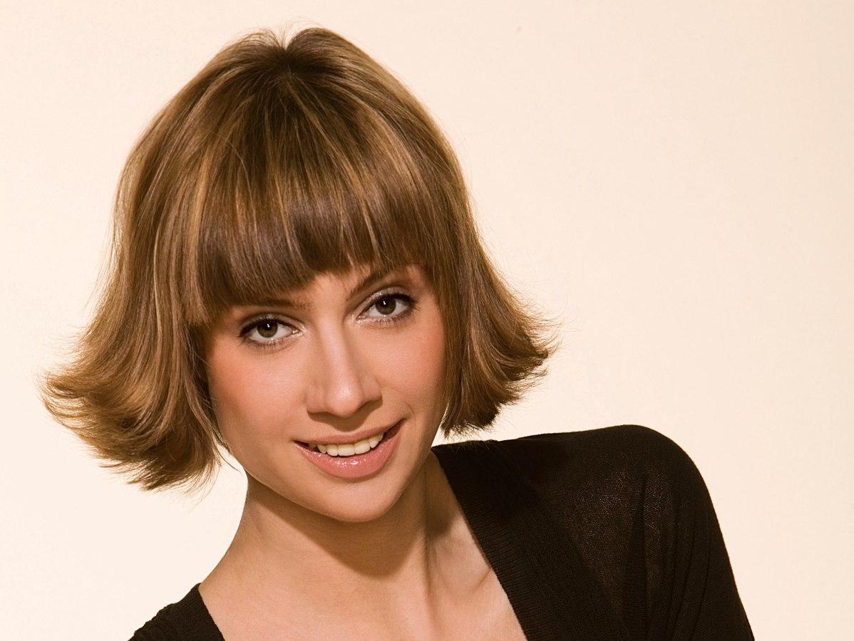 Flipped Bangs Hairstyles | Fade Haircut for Flip Shag Hair Cut